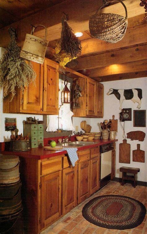 prim kitchen country decorating kitchens