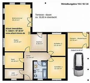 Grundriss Bungalow 100 Qm : grundriss winkelbungalow 100 qm ~ Markanthonyermac.com Haus und Dekorationen