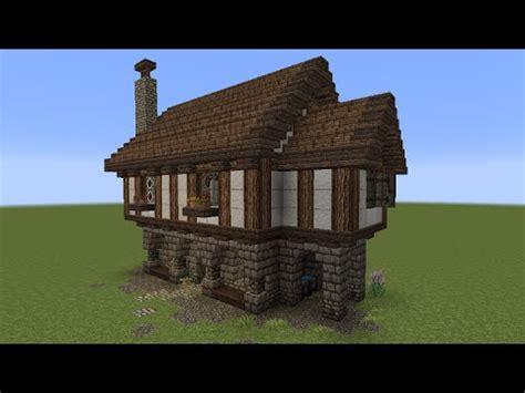 Minecraft Tutorial  Kleines Haus (mittelalterlich) Youtube