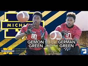 Michigan locks up commitments from Gemon & German Green ...
