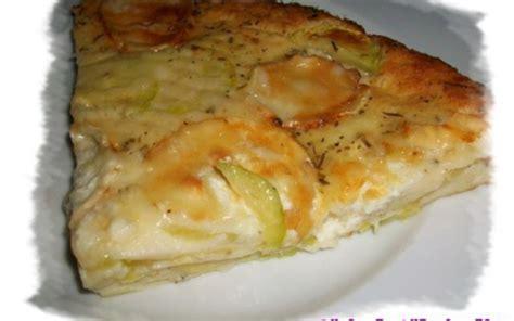 recette tarte courgettes et ch 232 vre sans p 226 te 233 conomique et simple gt cuisine 201 tudiant