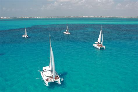 Isla Mujeres By Catamaran by Sail By Catamaran To Isla Mujeres