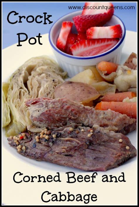 crock pot corned beef and cabbage discountqueens