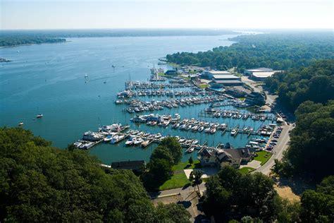 Boat Storage Holland Mi by Marina And Boatyard Photo Tour Lake Macatawa Michigan