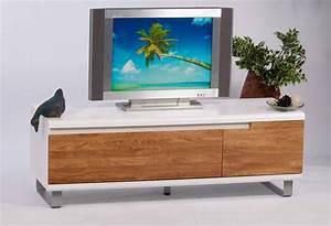 Hifi Schrank Mit Glastür : lowboard wildeiche wei tv board tv schrank hifi tisch tv rack modern design neu kaufen bei go ~ Markanthonyermac.com Haus und Dekorationen
