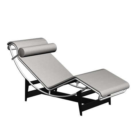 lc4 chaise longue design and decorate your room in 3d