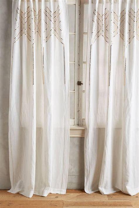 gleaming elora curtain in gold