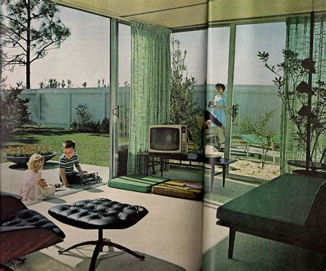 Sixties Living Room : Furniture & Home Design Ideas