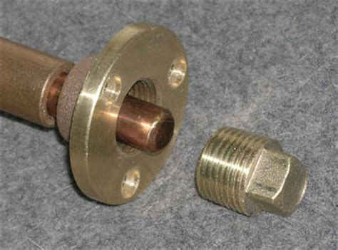 Boat Drain Plug Rot by Garboard Drain Plugs For Pivot Pin Capture