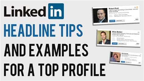 Linkedin Headline Tips And Examples 2013  How To Write A