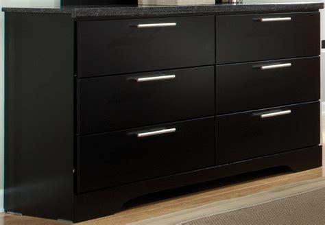 6 drawer dresser black atlanta black 6 drawer dresser 65009 standard