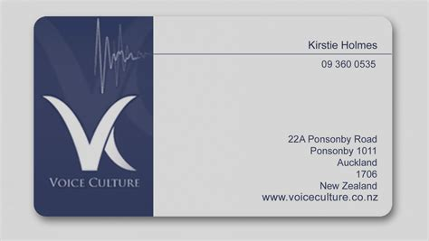 Collection Blank Business Card Template Microsoft Office