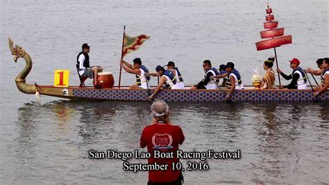 Lao Dragon Boat Festival San Diego by Lao Boat Racing Festival Complete All Heats San Diego Ca