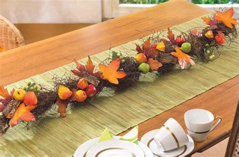 d 233 coration de table aux couleurs de l automne loisirs cr 233 atifs vbs hobby