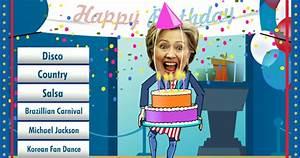 Hillary Clinton Birthday Ecard | Hillary Clinton Cards
