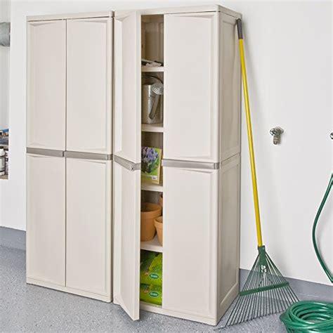 sterilite 01428501 4 shelf cabinet with putty handles