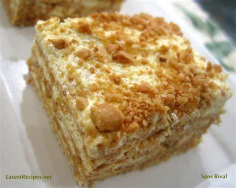 sans rival cake sans rival for kcc april 2011 recipes