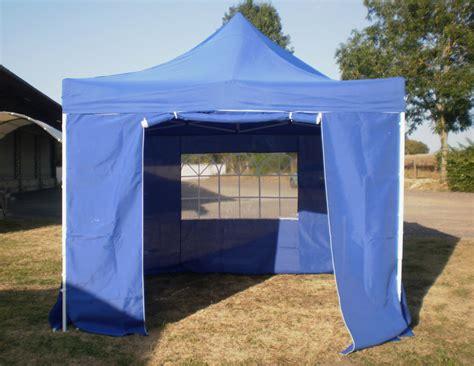 barnum chapiteau pliant bleu pas cher tente tonnelle