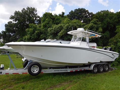 Fountain Boats Center Console Sale by 2009 Fountain 34 Center Console Power Boat For Sale Www