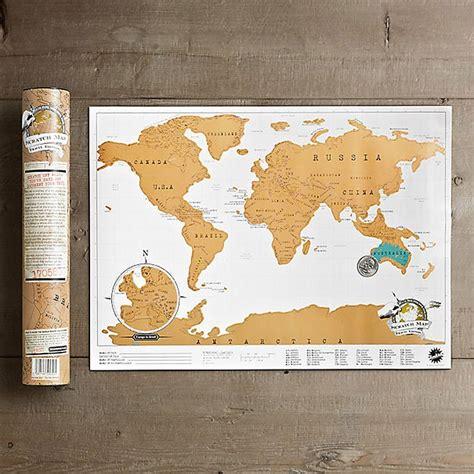 scratch map carte du monde 224 gratter 233 dition voyage allocadeau la boutique