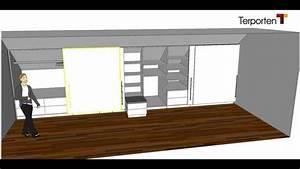 Ikea Ankleidezimmer Planen : kleiderschrank in einer dachschr ge terporten tischler schreiner viersen krefeld m nchengladbach ~ Markanthonyermac.com Haus und Dekorationen