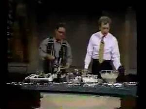 1993 - Bryant Gumbel & Dave cook and drink - YouTube