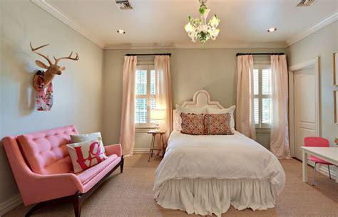 Sophisticated, Chic Gray & Pink Girl Teen Tween's Room