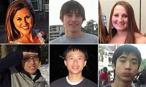 All six of virgin killer's victims now named | Daily Mail ...