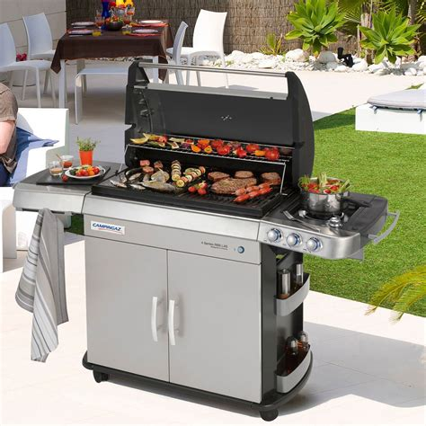barbecue gaz et plancha de cingaz zendart design