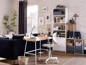 Schreibtisch Im Wohnzimmer : 9 sch ne und funktionale ideen f r deinen arbeitsbereich ~ Markanthonyermac.com Haus und Dekorationen
