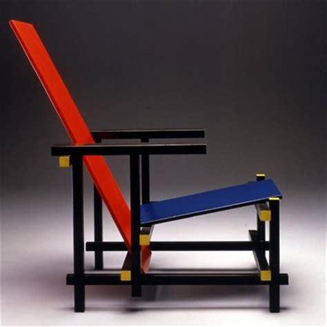 le fauteuil blue de rietveld design g 233 om 233 trique