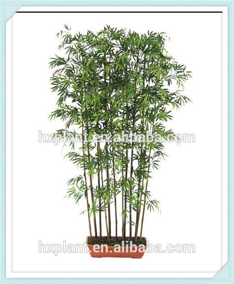 buluh planter des fleurs de bambou en pot artificielle feuilles en plastique artificielle bonsa 239