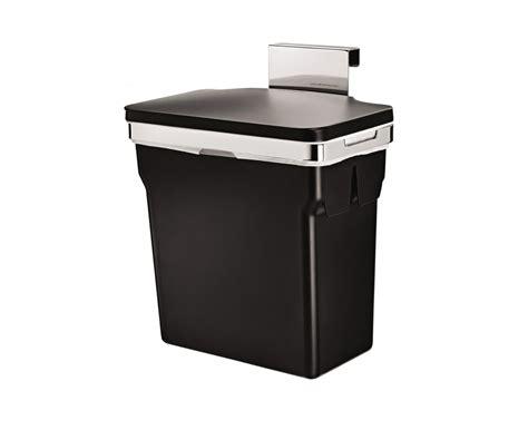 simplehuman cabinet trash can door mounted