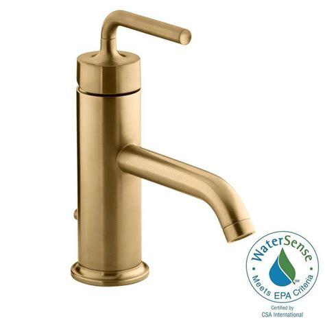 kohler purist 1 single handle low arc bathroom vesesl