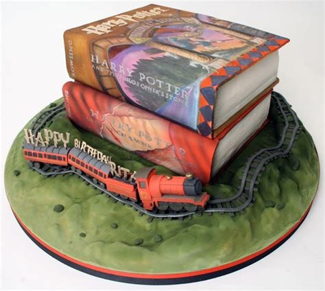 harry potter cake this harry potter cake is magical between the pages