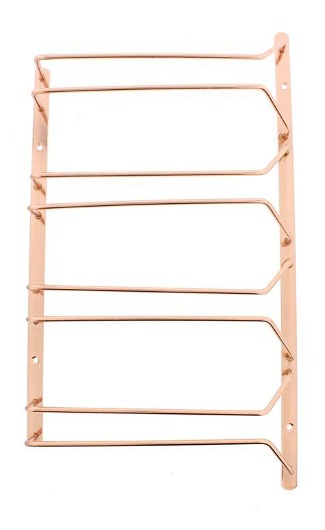 wine glass rack cabinet stemware holder holds 6 to