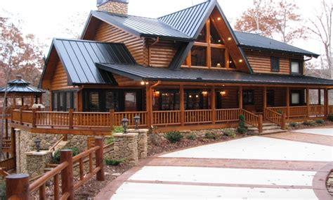 inspiring log home plans with wrap around porch nearby two story log cabin two story log homes with wrap around