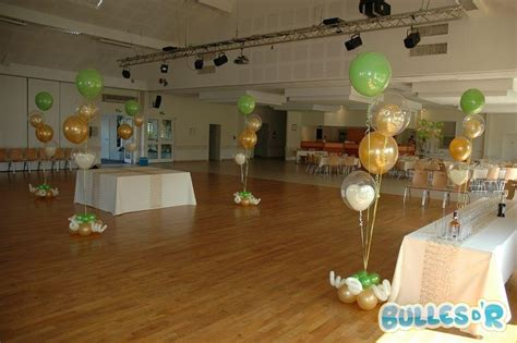 bullesdr d 233 coration de noces d or en ballons wiwersheim