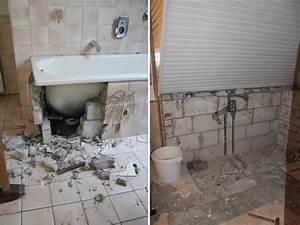 Bad Vorher Nachher : badezimmer selbst renovieren ~ Markanthonyermac.com Haus und Dekorationen