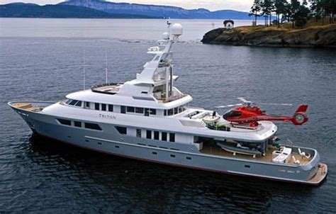 Boat Auctions Poole by Triton Superyacht Goes On Auction