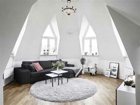 Ein Behagliches Wohnzimmer Auf Dem Dach