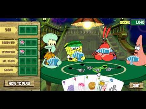 spongebob 3 deck draw