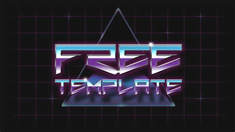 buy after effect logo template psd free 80 s template psd by gumnade on deviantart