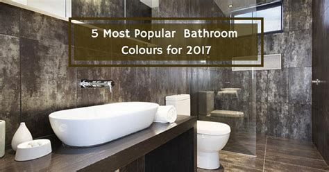 5 most popular bathroom colours for 2017 vista bathware