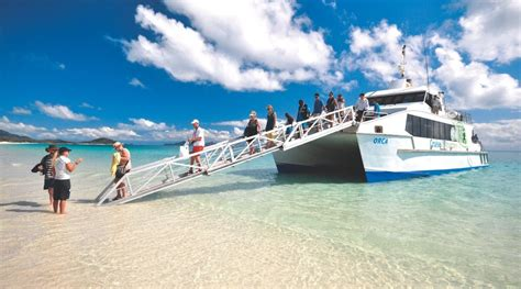 Boat From Hamilton Island To Airlie Beach by Cruise Whitehaven Beach And Hamilton Island Queensland