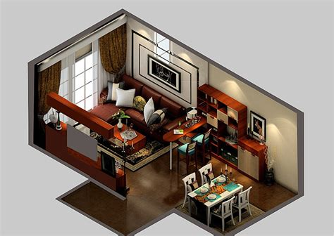 Modern Living Dining Room And Bar Design 3d View, Bar Bay Window Treatment Ideas Living Room Accent Chairs With Arms Large Popular Paint Colors Country Curtain Furniture Lancaster Pa Tv Console Design Home Theater