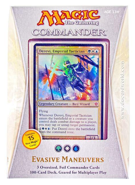 Evasive Maneuvers Deck Improvements by Magic The Gathering Commander Deck 2013 Evasive