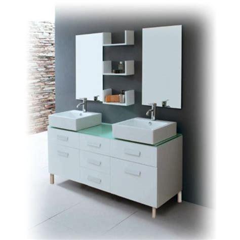 meuble de salle de bain vasque avec pied carrelage salle de bain