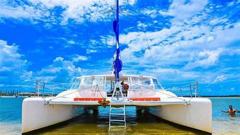 Catamaran Boat Hire Sunshine Coast by Sunset Sailing Cruise Gold Coast
