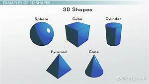 What are 3D Shapes? - Definition & Examples - Video ...